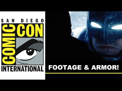 Comic Con 2014 - Batman vs Superman Footage & Ben Affleck Armor Suit : Beyond The Trailer