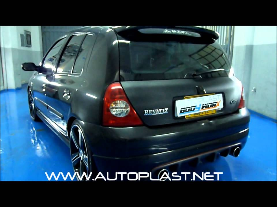 Body Kit Renault Clio Sport Youtube
