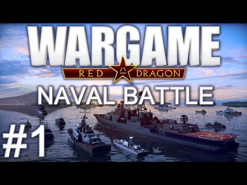 Wargame Red Dragon Naval - Sinking Ships #1