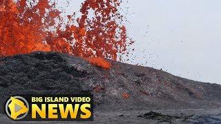 Hawaii Volcano Eruption Update - Monday Night (May 21, 2018)