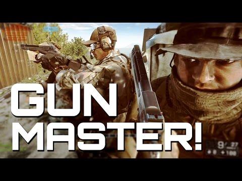 Battlefield 4: Gun Master MVP Raw Gameplay