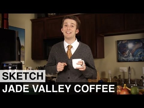 Jade Valley Coffee - Awkward Spaceship