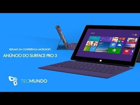 Anúncio do Microsoft Surface Pro 3 [Resumo] - TecMundo