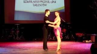 Małgorzata Wąchała i Tomasz Stawowy, taniec towarzyski