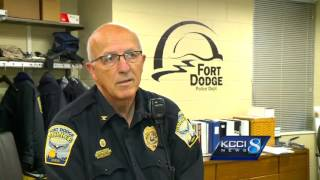 Police speed camera set on fire in Fort Dodge