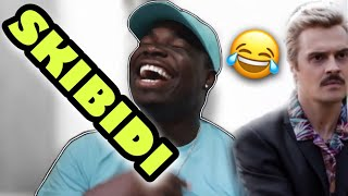 American reacts to Russian songs LITTLE BIG - SKIBIDI | THE MIXED FAMILY