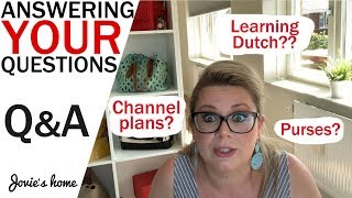Q & A with Jovie - Answering YOUR Questions - Jovie's Home