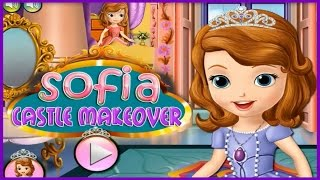 Great Fun with Princess Sofia Castle Makeover Movie Episode-Sofia The First Games Online