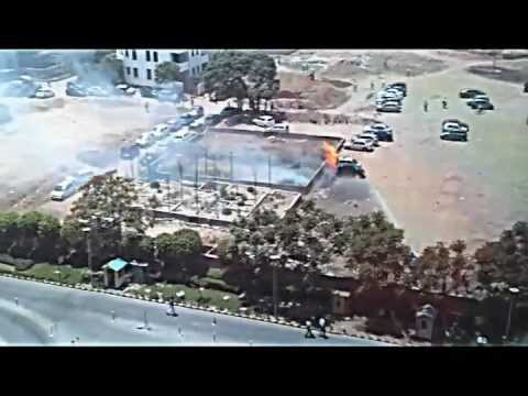 Car on Fire Gurgaon Sec-39.mp4