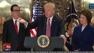 President Trump RIPS MEDIA: Unlike the Fake News I want to get all the Facts before I Make a Comment