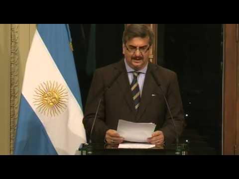 Estado de salud de la Presidenta de la Nación Cristina Fernández. Alfredo Scoccimarro.
