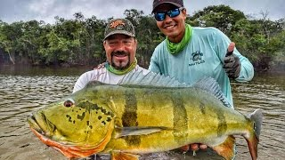CRISTIAN VANEGAS (Cap. 4) River MATAVEN Peacock Bass Fishing in Colombia 2016 Tucunare o Pavon.