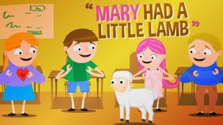 Mary Had A Little Lamb | Nursery Rhymes | Kids Songs | Baby Songs
