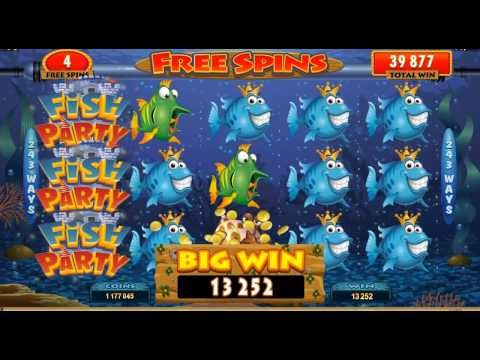 Fish Party Online Slot Game Promo Video