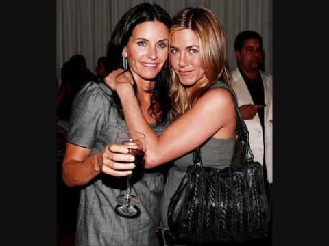 Best Friends Jennifer Aniston And Courteney Cox