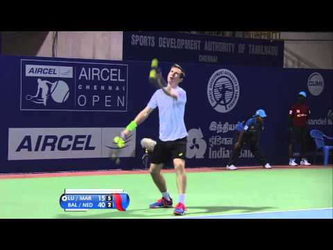 ACO 2015 - Day 1: Match 2 Highlights - Y Lu/J Marray vs N Balaji/J Nedunchezhiyan