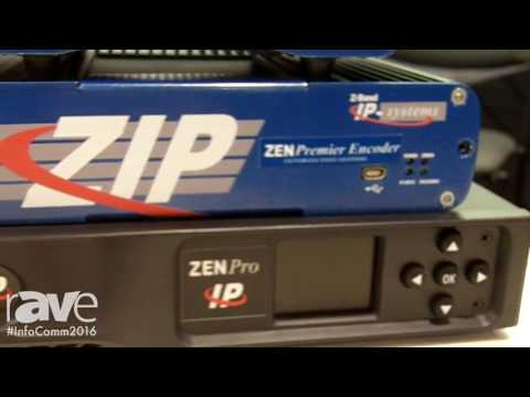 InfoComm 2016: Z Band Showcases Zen Pro, Premier and Classic Encoders