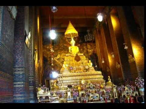 Wat Pho Temple Reclining Buddha Part 2 Phil in Bangkok