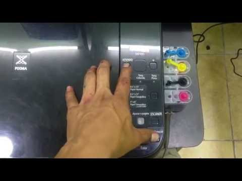 Reset software canon MP495