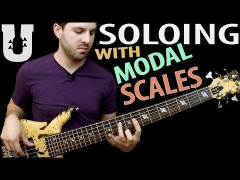 Lesson Bass - Bass Scales Modal
