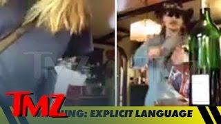 Johnny Depp -- Goes Off on Amber Heard ... Hurls Wine Glass