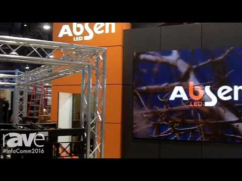 InfoComm 2016: Absen Welcomes You To InfoComm16