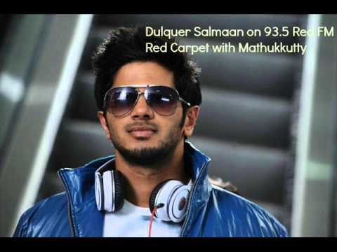 Dulquer Salmaan On 93.5 Red Fm Red Carpet With Mathukkutty !! | `ustad Hotel` Special video