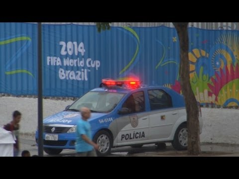 Brazil Takes No Chances on Security with World Cup
