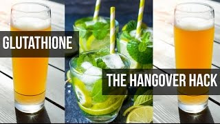 What Happens When You Drink Alcohol | Glutathione Hangover Fix: Thomas DeLauer