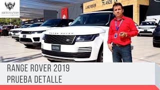 Range Rover 2019 | Prueba detalle | Artesanos Car Club