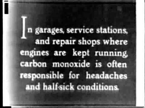Carbon Monoxide Hazard in Automobile Repair and Its Control 1930 US Bureau of Mines