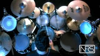 "Illogicist - Hypnotized by Riccardo Merlini "" Drum cam "" Technical / Progressive Death Metal drums"