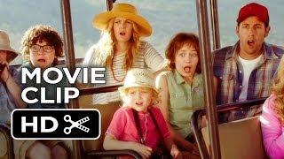 Blended Movie CLIP - Blended Families (2014) - Drew Barrymore, Adam Sandler Comedy HD