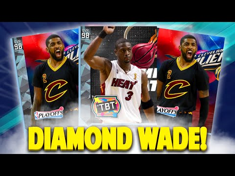 DIAMOND DWYANE WADE! NBA 2K16 MyTEAM PACK OPENING! BACK TO BACK AMETHYSTS!