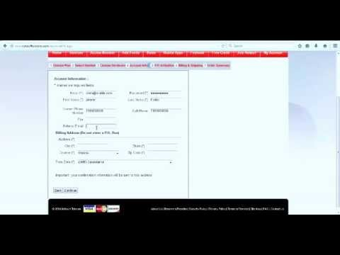 Netsurf Telecom Customer Panel - Creating Your Account Online