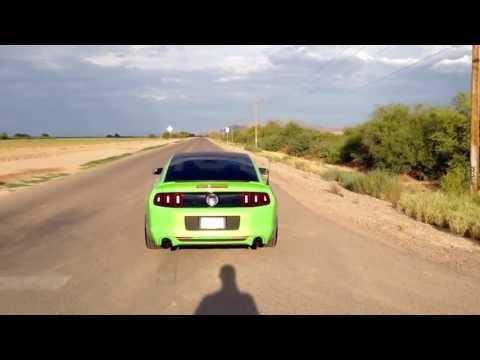 2013 Mustang 5.0 loud Roush Axleback