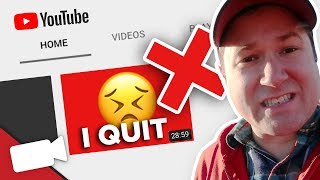 Why You Stopped Making YouTube videos