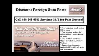 Foreign Auto Parts - 24/7 Quotes - $75 or More Ships Free