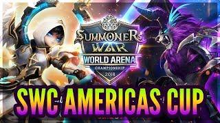 2018 SWC Americas Cup Qualifier! - FULL STREAM! - Summoners War