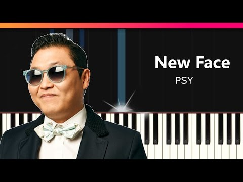 """PSY - """"New Face"""" Piano Tutorial - Chords - How To Play - Cover"""