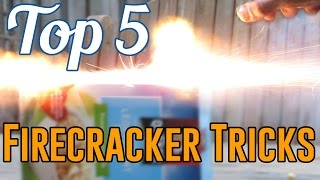 Top 5: Firecracker Tricks + Slow-mo