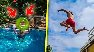 ULTIMATIVE POOL TRICKSHOT CHALLENGE!!!