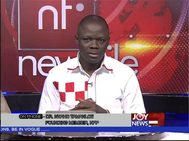 Dr. Nyaho-Tamakloe Says NPP Is Behind - Newsfile (14-2-15)