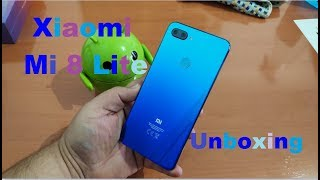 Xiaomi Mi 8 Lite Unboxing en Español