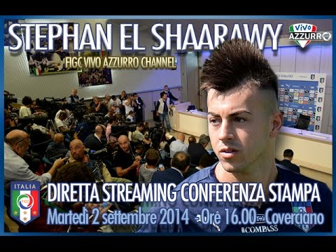 (DIRETTA STREAMING) Stephan El Shaarawy in conferenza stampa -  2 settembre 2014