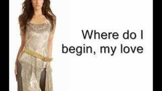 Watch Idina Menzel Where Do I Begin video