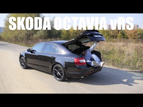 (ENG) Skoda Octavia vRS - Test Drive and Review