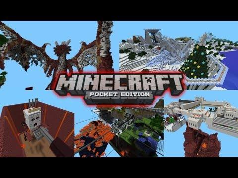 Best Minecraft Pocket Edition Maps 2013!