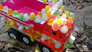 Đồ chơi trẻ em bé pin bán thạch rau cau ❤ PinPin TV ❤ Baby fish toys beetroot
