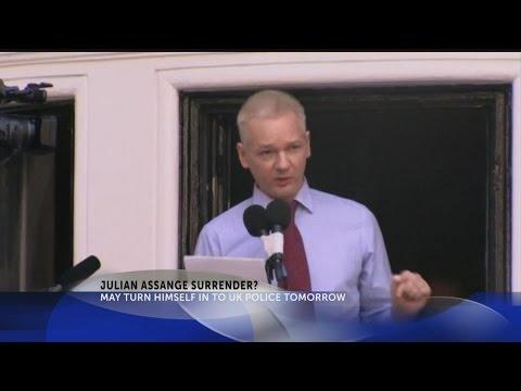 Julian Assange Surrender?